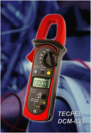 Digital clamp meter  ac dc current dcm-033 Tecpel