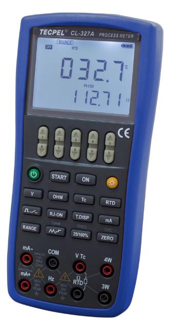 CL-327A type PT100 Thermocouple calibrator
