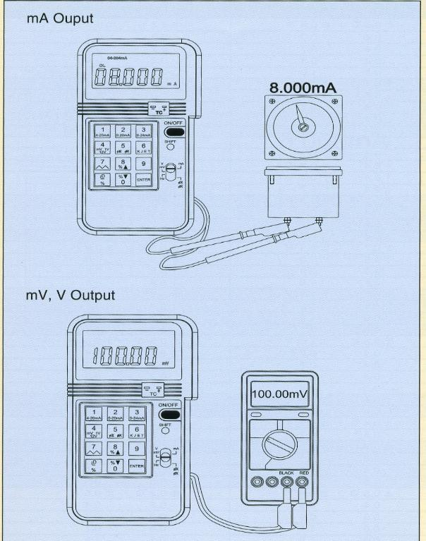 4-20mA process calibrator Application