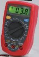 Digital multimeter Low cost palm size Tecpel  DMM-134