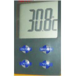 digital thermometer lcd panel