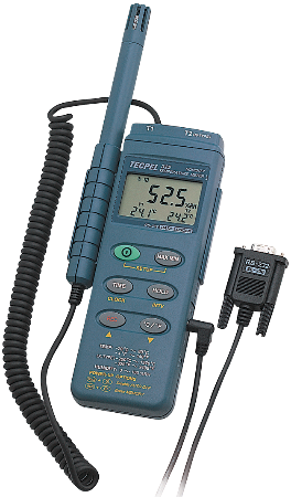Temperature Humidity data logger recorder digital Tecpel   DTM-322