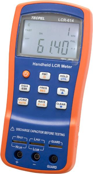 LCR-614-10KHZ- 40000 Count with high accuracy of 0.25%  handheld-RLC meter