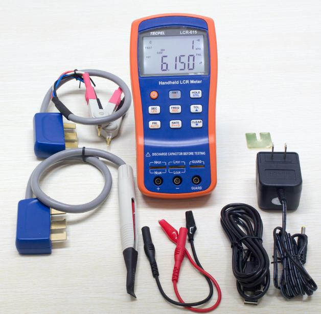 Handheld lcr meter 100KHz with high accuracy of 0.1% all