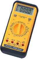 Digital Multimeter  handheld 4 1/2 digits Tecpel dmm-8050