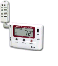 Temperature and humidity data logger TR-71Ui TR-72Ui