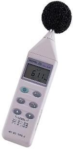 Digital sound level meter data logger data logging